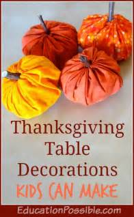 Easy Ways To Decorate Your Home thanksgiving table decorations kids can make