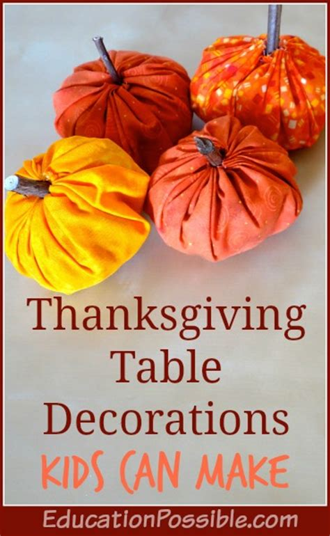 kid crafts for thanksgiving table decorations thanksgiving table decorations can