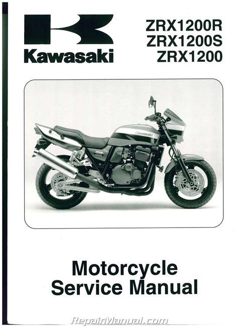 kawasaki zrxr motorcycle service manual