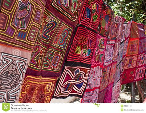 Handcrafted Textiles - panama textiles stock image image of clothes american