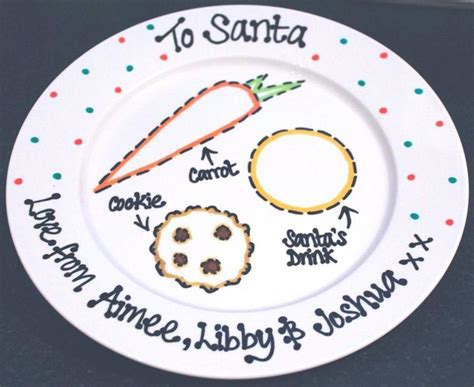 ideas for christmas plate designs 25 unique plates ideas on tree handprint santa foot prints and