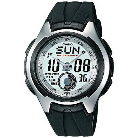 Casio Aq 180w 7b 1 Casio World Time 100m Mens Aq 160w 7b Aq160w