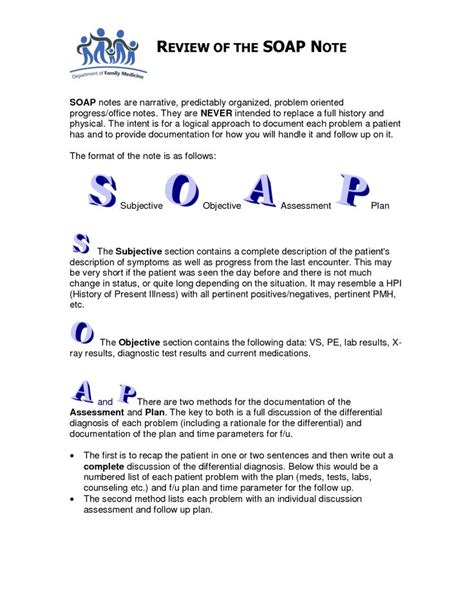 soap documentation template the 25 best soap note ideas on simple soap