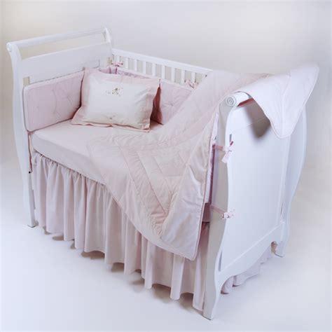 gordonsbury crib bedding gordonsbury unembroidered crib bedding pink