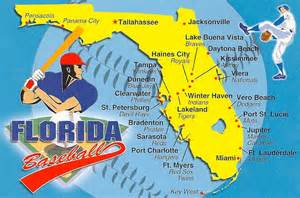 baseball florida map florida map of baseball teams flickr photo