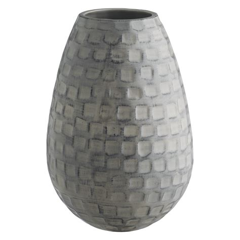Ceramic Vases Uk by Jurassic Grey Textured Ceramic Vase Buy Now At Habitat Uk