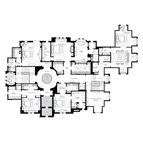 large estate house plans architectual 1 on floor plans custom homes and courtyards