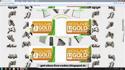 Free Xbox Live Codes Giveaway 2014 - giveaway free xbox live codes free xbox live card codes feb 2014 youtube