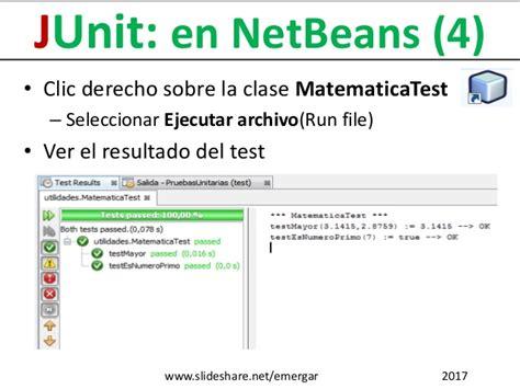 netbeans tutorial deutsch pdf pruebas unitarias