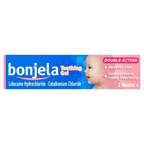Bonjela Teething Gel ocado bonjela sugar free teething gel 15g product