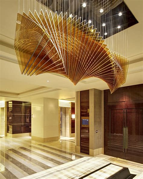 hotel light installation four seasons hotel beijing by hirsch bedner associates architects hba ceiling installation
