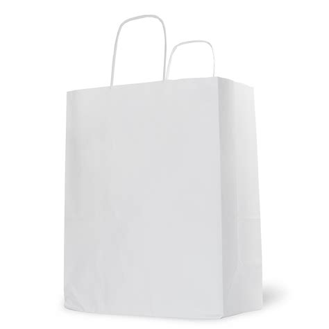 carrier bag white paper carrier bag barry packaging