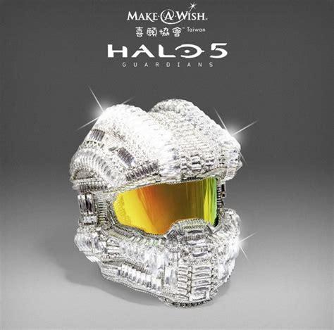 halo  master chief helmet adorned   swarovski