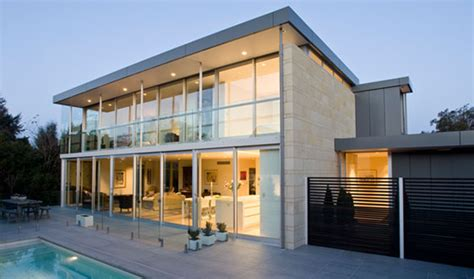 glass and concrete house concrete structured modern glass house design archinspire