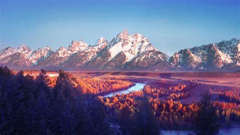 Landscape Mountains Mountain Landscape Wallpaper 1920x1080 79674