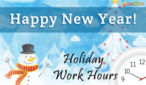 new year shopping hours what happy new year work hours
