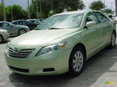 Toyota Camry Car Colors 2007 Jasper Green Pearl Toyota Camry Hybrid 17823995