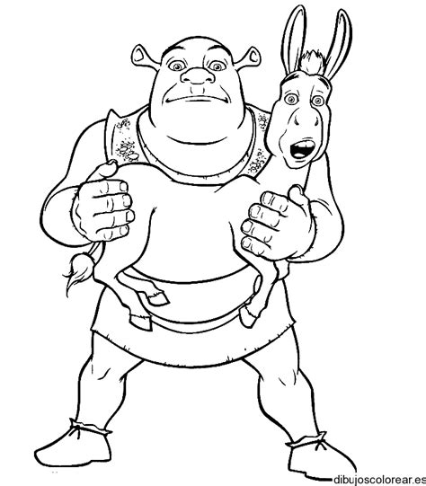 7 Year Boy Coloring Pages Free Shrek by 7 Year Boy Coloring Pages Free