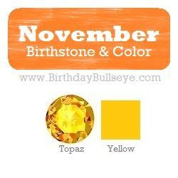 what is november s birthstone color november birthstone color yellow coordinating with both