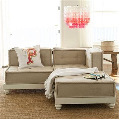pb teen sectional sectional sofas offices and pottery on pinterest