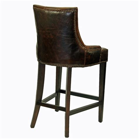 top grain leather bar stools barstools counter stools antique coco top grain