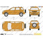 The Blueprintscom  Vector Drawing Ford Ecosport