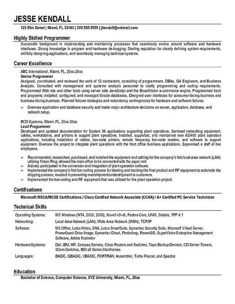 pretty looking computer science resume sample 14 computer science