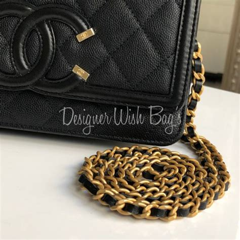 Ocase Gucci 1 chanel woc filigree black
