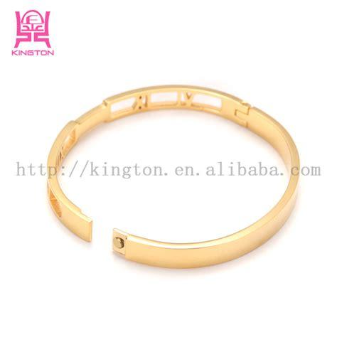 stainless steel 18k gold sikh kara bangle buy sikh kara