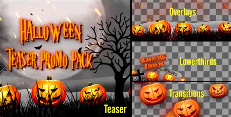 Videohive Halloween Teaser Promo Pack Share Ae Thanksgiving After Effects Template