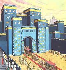 porta di ishtar scuola primaria i babilonesi