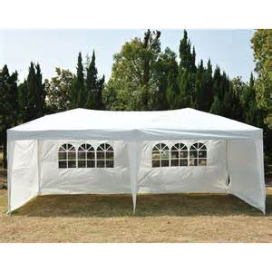 10x20 Canopy With Sidewalls by 10 X 20 Outdoor Patio Gazebo Ez Pop Up Party Tent Wedding
