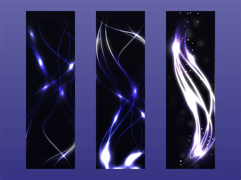 vector neon tutorial neon vector banners