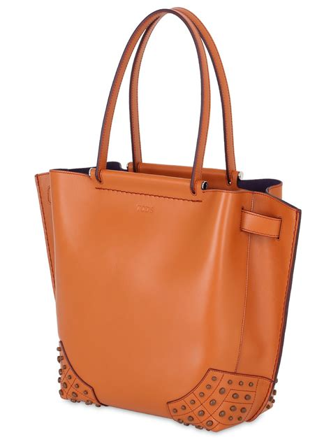 Kate Spade Speedy Top Handle Bag Ss17 Set 6319 lyst tod s wave leather tote bag in orange