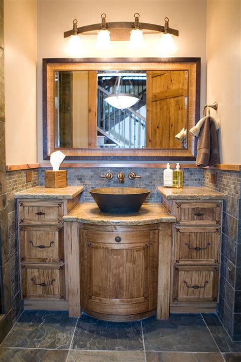 Rustic Modern Bathroom Vanity by 26 Impressive Ideas Of Rustic Bathroom Vanity Home