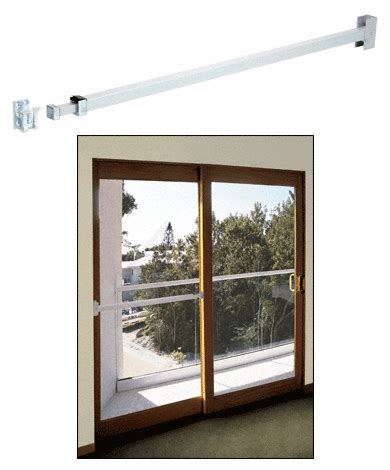 Security For Sliding Glass Doors by Crl U9920 Telescoping Security Bar For Sliding Glass Doors