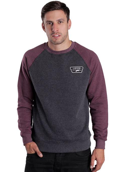 Sweater Vans vans rutland black port sweater impericon