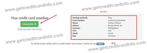 Free Valid Visa Gift Card Numbers - working credit card numbers 2017 visa infocard co
