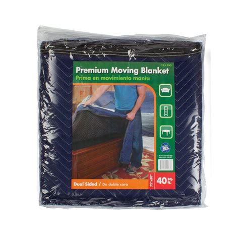pratt retail specialties 72 in x 80 in moving blanket