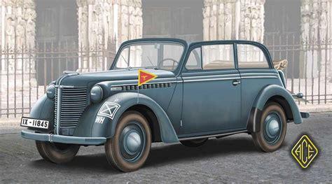 Opel Olympia by Opel Olympia Stabswagen 1938 Staff Car Cabriolet 1 72
