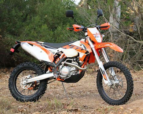 Ktm 500 Exc Upgrades 2016 Ktm 500exc Dirt Bike Test