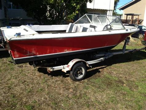 used boats no motor 18 foot boat no motor on trailer north saanich sidney
