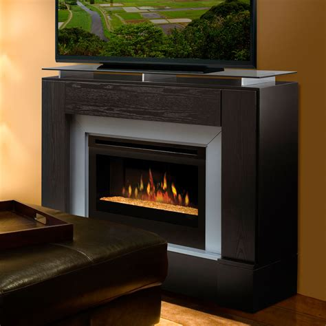 tv consoles with electric fireplace dimplex jasper black electric fireplace media console
