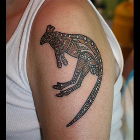 australia tattoo designs kangaroo meanings itattoodesigns