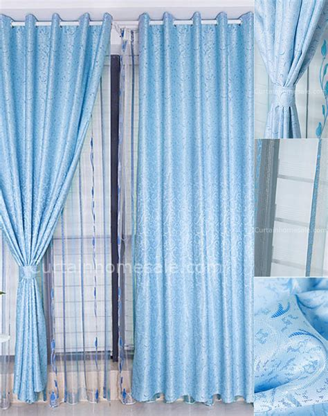 baby blue blackout curtains baby blue curtains blackout curtain menzilperde net