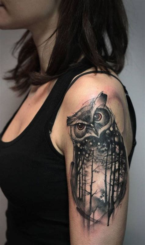 owl tattoo arm girl owl tattoos and designs that are actually amazing