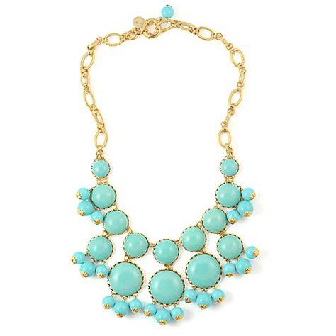 Turquoise Statement Necklace turquoise statement wedding necklace loren onewed