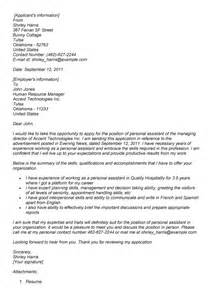 cover letter for personal care assistant cover letter personal assistant experience resumes