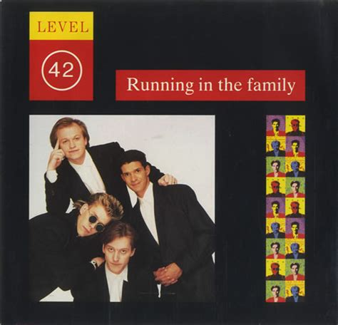 running in the family books level 42 running in the family us 7 quot vinyl single 7 inch