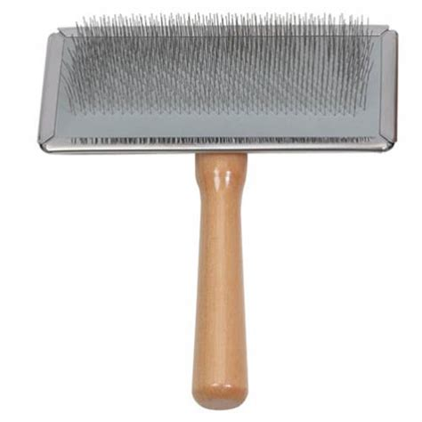 slicker brush for dogs buy ancol wooden handle slicker brush for dogs